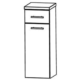 Puris Star Line (HBA553A7W Bathroom Cabinet 30 CM