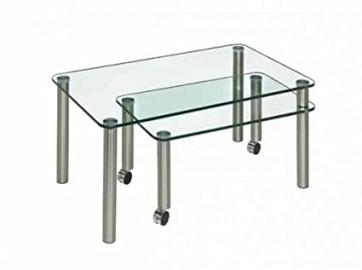Four House 4264300/99Coffee Table with Glass Top