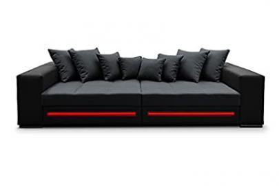 Corner Sofa Sapphire Corner Couch Sofa Couch Bigsofa Big XXL Sofa bed LED 01353