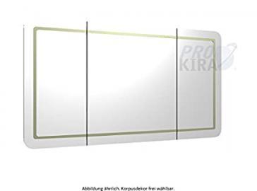 Pelipal Contea Mirror Cabinet Bathroom Furniture (Ct-s3e4-1270-17)/Comfort N/128 cm