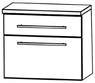 In UNA346A7M) Swing Cabinet Bathroom Furniture-60cm