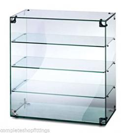Countertop Glass Display Case / Ambient Food Cake Display Cabinet