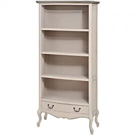 Manor House Low Bookcase With 1 Drawers 16780