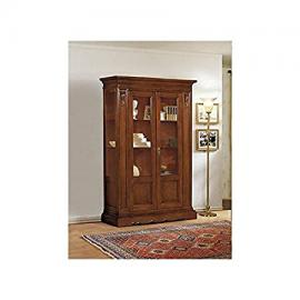 Display Cabinet Bookcase Solid Wood Carved Super price-as photo