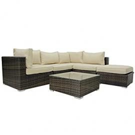 Maze Rattan London Corner Garden Sofa Suite
