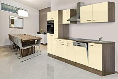 Respekta Kitchen Unit/Empty Empty Kitchen Unit 310cm oak York Vanilla