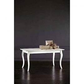 Fixed Table Solid Wood 120 x 80 Contry Collection Various Colours – As Photos White and Ivory