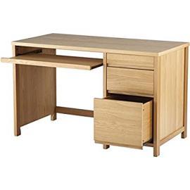HUNTER, Oak Veneered Home Office Desk