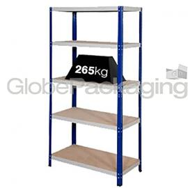 15 x Heavy Duty Shelving Storage Racking 265 Kg For Warehouse Garage Office etc -1770x1200x600mm