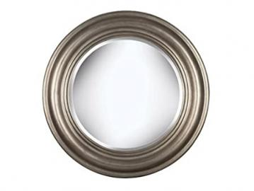 Kenroy Home Nob Hill Wall Mirror with Antique Silver Finish, 32-Inch Diameter by Kenroy Home