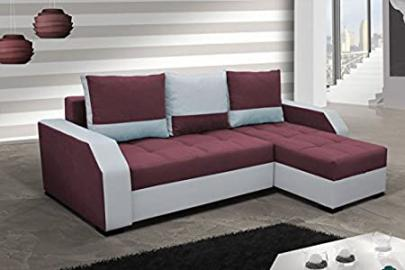 Corner Sofa Aris2 with Bed function Corner Couch Sleep function Sofa Couch