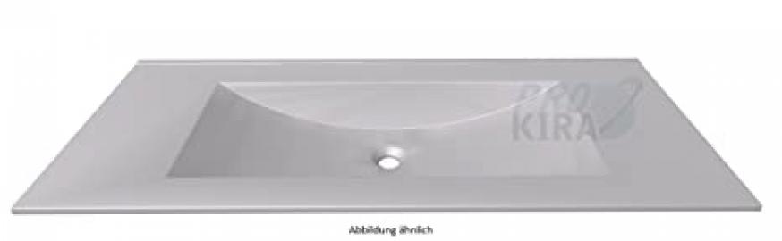 In Line Basin/SWG512092Opti White Matte Glass/122x1,3x50cm