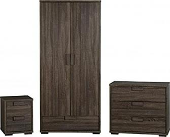 Cambourne Bedroom Set in Dark Sonoma Oak Effect Veneer