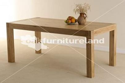 Alto Solid Oak 6ft x 3ft Dining Table