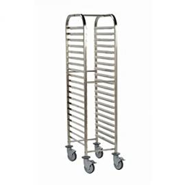 Bourgeat P473 Gastro norm Racking Trolley