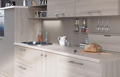 Egger Contemporary Avalon Cream Effect Kitchen Bathroom Laminate Worktop Offcut Work Surface 40mm Breakfast Bar - 3m x 670mm x 38mm Breakfast Bar