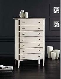 Wooden Chest of Drawers cm 84 x 47, h 138, MADE IN ITALY