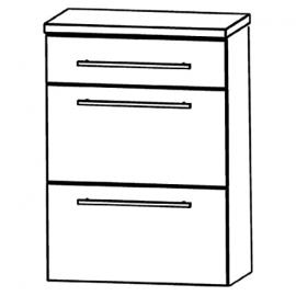 In Starline Highboard (HBA566 A7M) Bathroom, 60 cm
