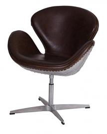 Besp Oak Vintage Aviator Leather Chair