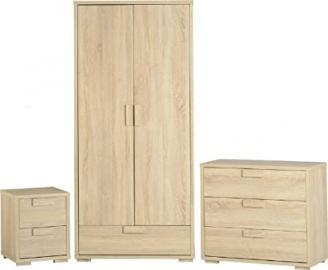 Seconique Cambourne Bedroom Set - Sonoma Oak Effect