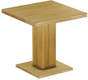 Rio Uno Brasil Restaurant Table, Solid Pine Wood Oiled and Waxed Size L x W x H: 80x 80x 78cm