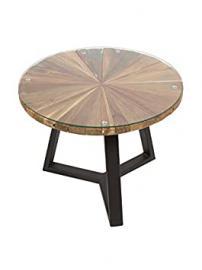 Sun round coffee table