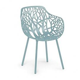 Forest Garden Armchair light blue/powder-coated/New Colour !