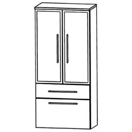 Puris Swing (MNA886B7M Bathroom Cabinet 60 CM