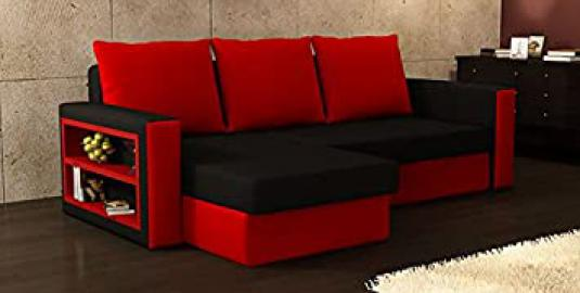Brand New BALTIMORE Corner Sofa Bed * Choice of fabrics and corner position available