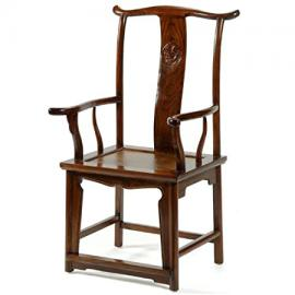 Yoke-Back Armchair, Warm Elm