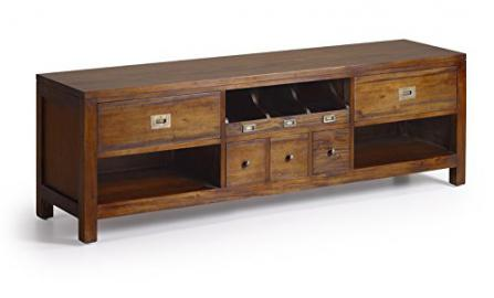 TV Table : Collection FLAMINGO 5 drawers