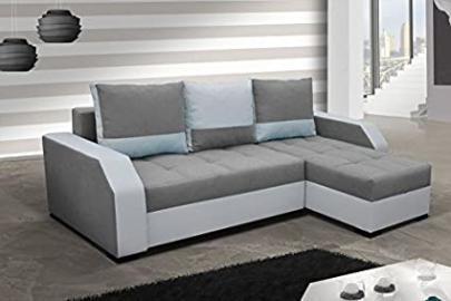 Corner Sofa Aris with Bed function Corner Couch Sleep function Sofa Couch 01494