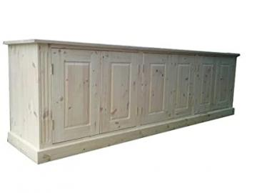 Wye Pine Long Low Sideboard - Finish: Lacquer - Stain: Waterbased