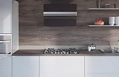 Egger Contemporary Graphite Fleetwood Wood Effect Kitchen Bathroom Laminate Worktop Offcut Work Surface 40mm Breakfast Bar - 3m x 670mm x 38mm Breakfast Bar