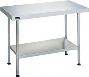 Lincat Kitchen furniture Centre Table 900mm long Dimensions 900(h) x 900(w) x 650(d)mm Weight :22 Kg