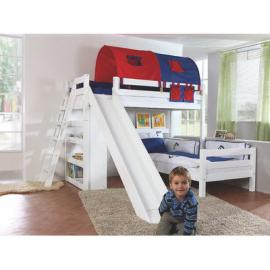 Cabin Bed with Tunnel and bag Sky Blue Boy