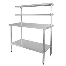 Heavy Duty Stainless Steel Prep Station Table 1200x600mm /Commercial Kitchen