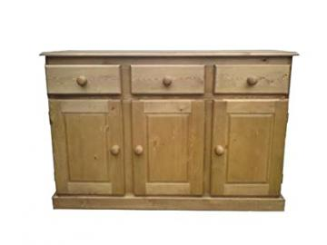 Wye Pine Farmhouse 4ft 6' Sideboard - Finish: Unfinished - Stain: Golden Pine