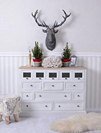 Sideboard Cupboard Chest of Drawers Country Style Shabby White Palazzo Exclusive