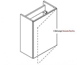Lanzet K3 Vanity Bathroom / Cloakroom / 44 x 600 x 24 CM