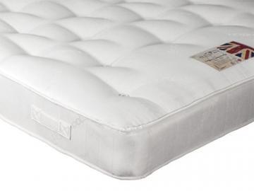 British Bed Company Organic Cotton Pocket 5FT Kingsize Mattress