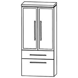 Cool Puris Line (MNA886B5M Bathroom Cabinet 60 CM