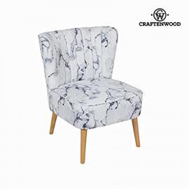 Sedia a sdraio tessuto marmoreo by Craften Wood (1000026869)