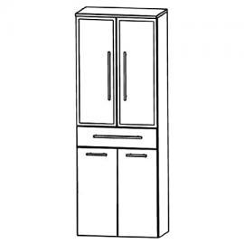 Puris Speed (HNA056BW Bathroom High Cabinet 60 CM