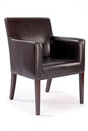 Metro Cubed Armchair BROWN