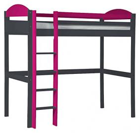 Design Vicenza Maximus High Sleeper Graphite and Fuchsia