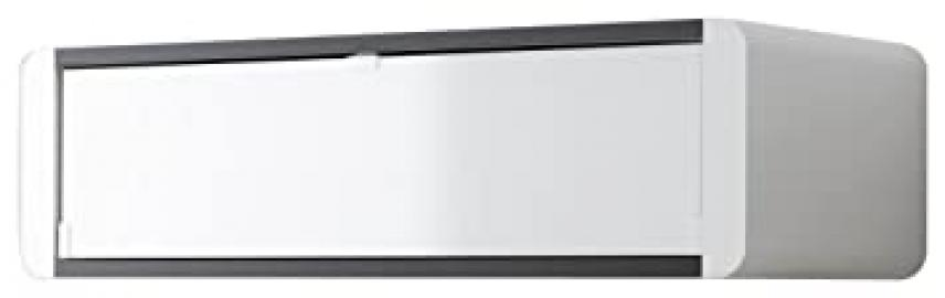 Schnepel ELF W90 Wide Wall AV Unit, 930 x 420 x 248 cm, Black/ White