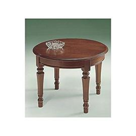 Round Table Low Solid Wood Living Room–As Photos