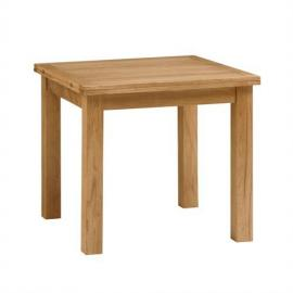 Salisbury Petite Oak 85cm-170cm Square Extending Dining Table