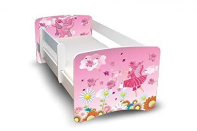 BEST FOR KIDS CHILDREN BED 90x160 with protection 34 DESIGNS + FREE GIFT